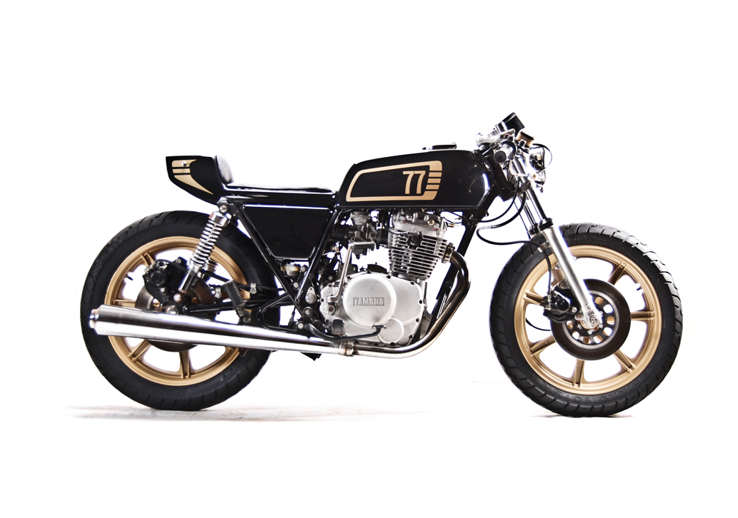 ♠MilchapitasKustom Bikes♠: Yamaha XS400 1977 By Motohangar