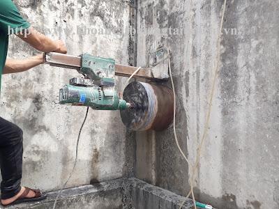 Khoan cắt bê tông tại Kiên Giang