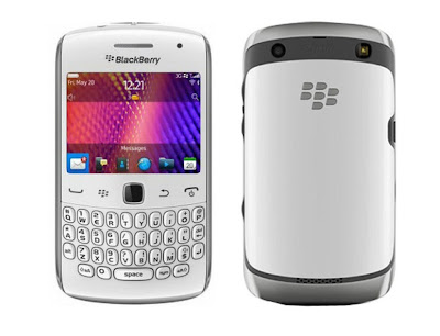 BlackBerry Curve 9360 in white