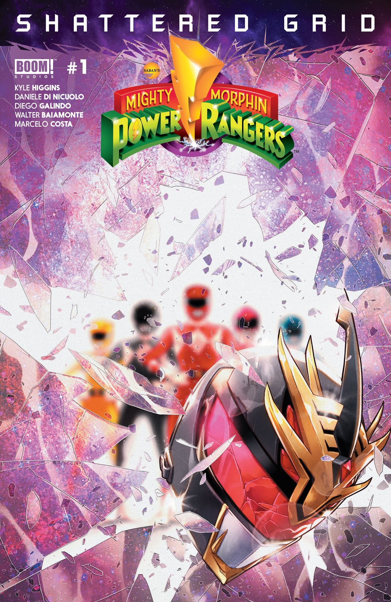 Mighty Morphin Power Rangers: Shattered Grid Full Page 1