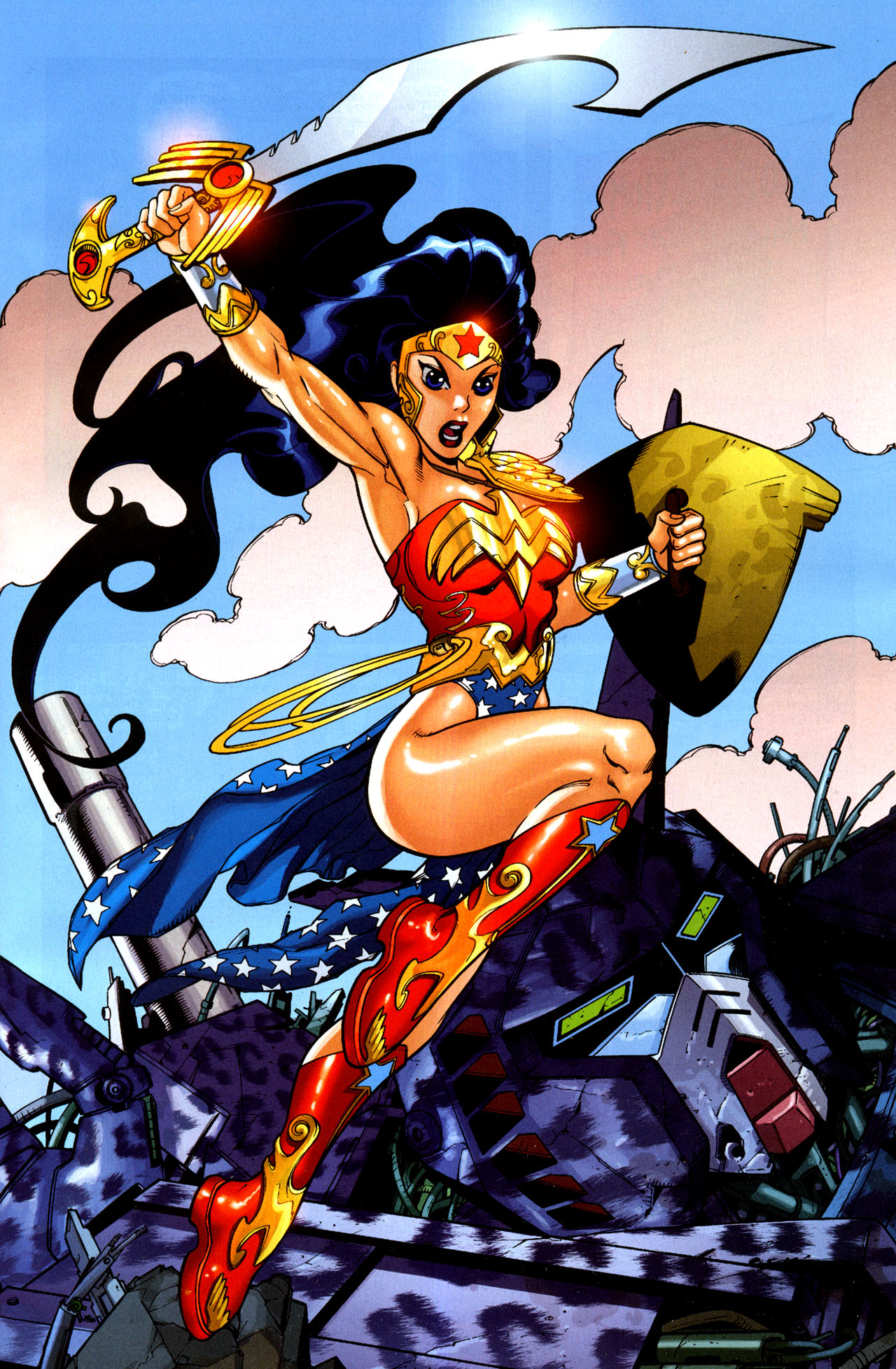 Read online Wonder Woman (2006) comic -  Issue #35 - 2