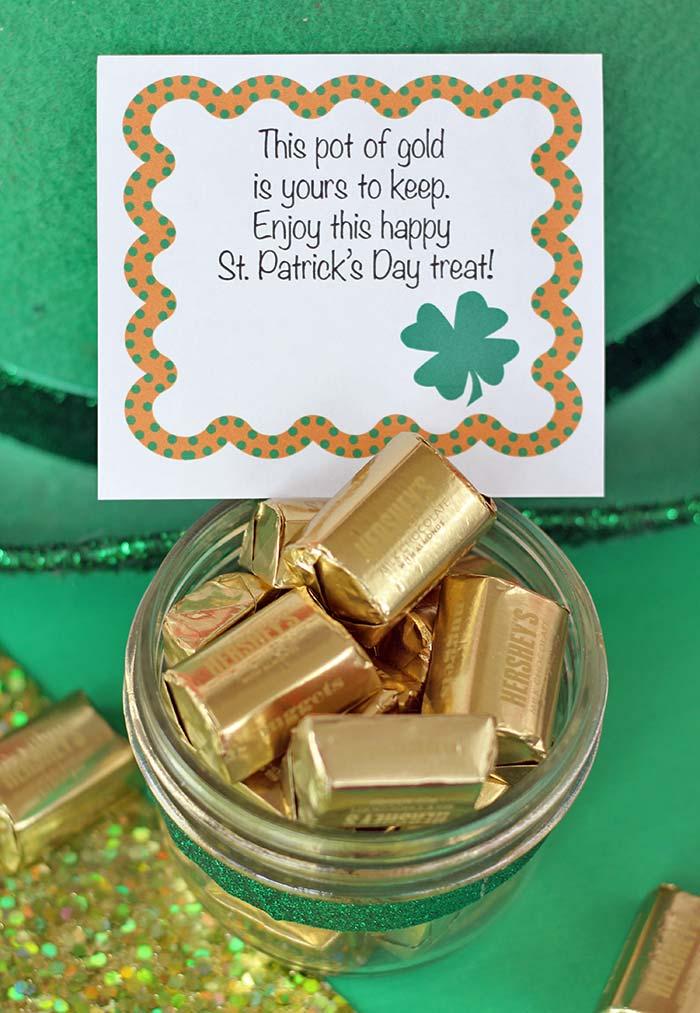 Free Printable St Patrick S Day Lunch Box Notes For Kids