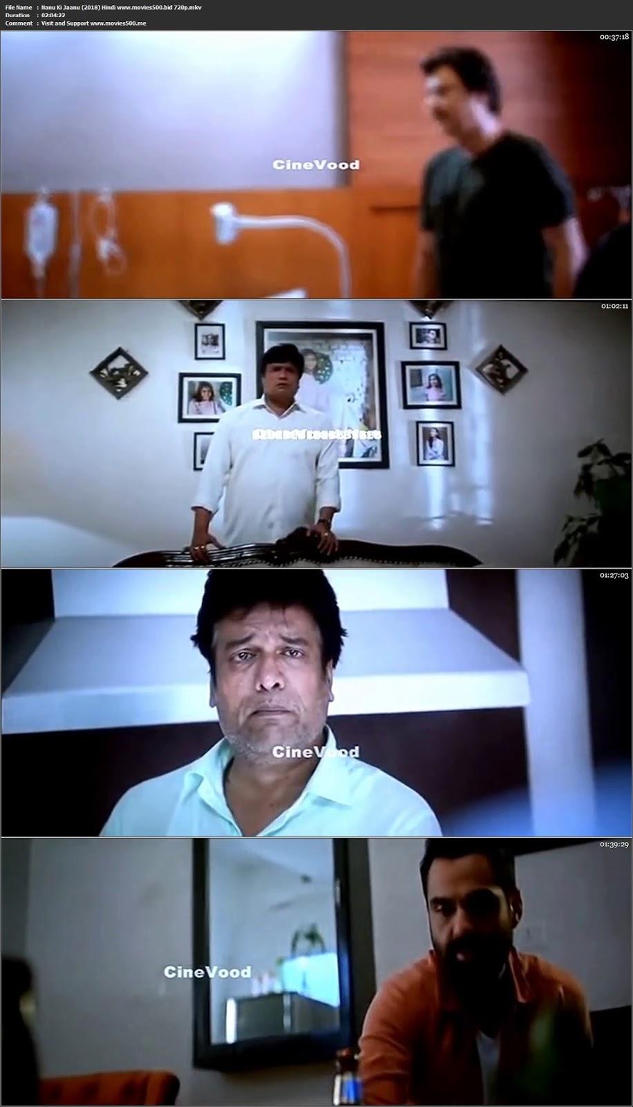 Nanu Ki Jaanu 2018 Hindi Full Movie pDVDRip 720p at movies500.info