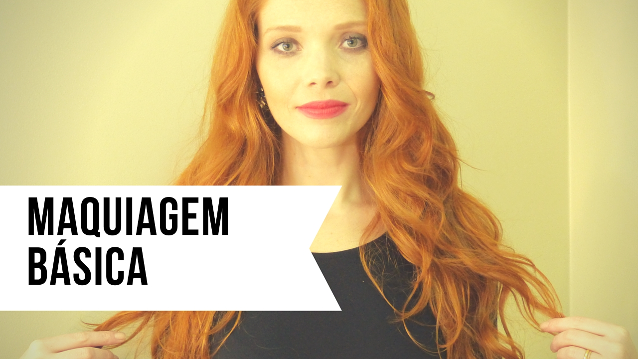 Vídeo: Minha maquiagem básica