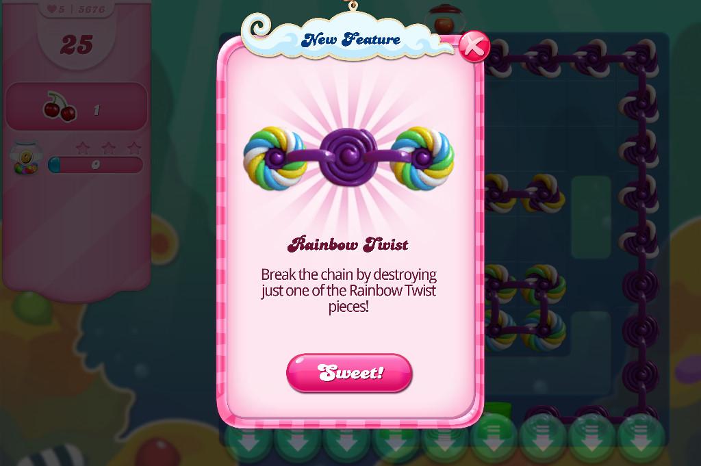 Candy Crush Saga level 5676