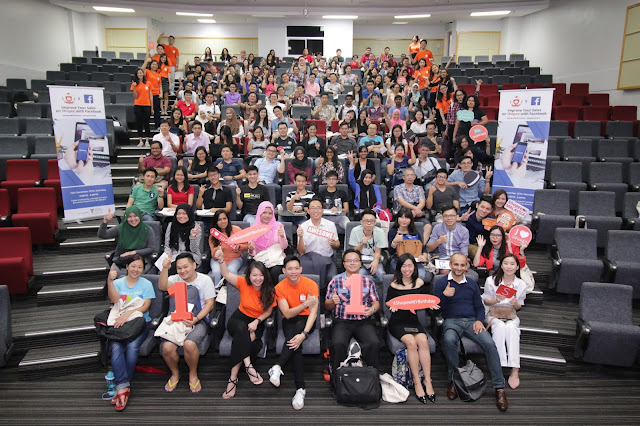 Crowd at Shopee University Special Edition