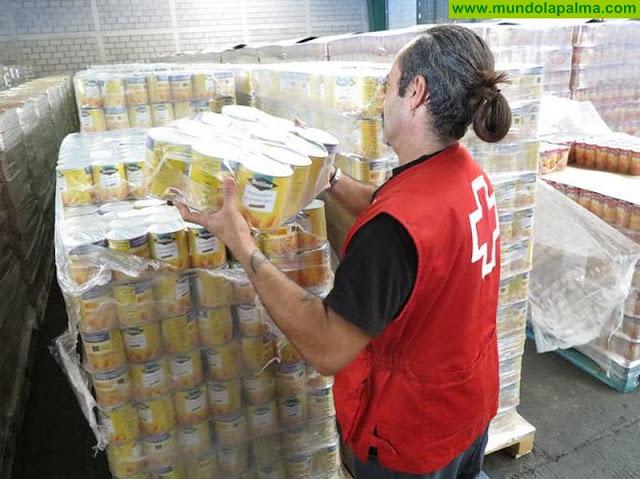Cruz Roja distribuye más de 492 toneladas de alimentos en la provincia tinerfeña