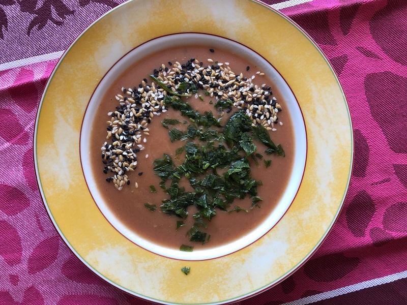 Zupa krem z buraków i ziemniaków + Diana