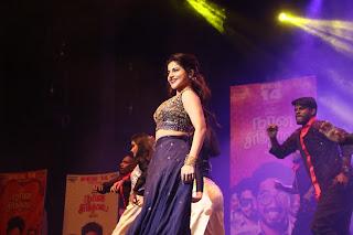 Iswarya Menon Stills at Naan Sirithal Movie audio launch