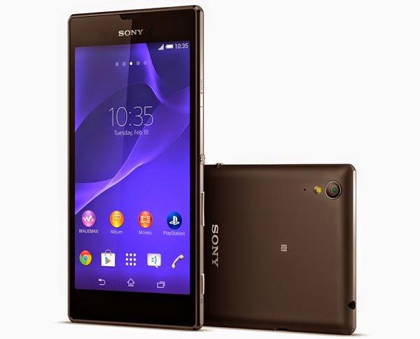 Sony Xperia T3 warna hitam