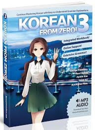 Korean From ZERO Book 1,2,3 PDF+Audio - Korean TOPIK | Study Korean