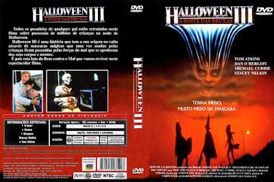 Filme Halloween 3 - A Noite Das Bruxas DVD Capa
