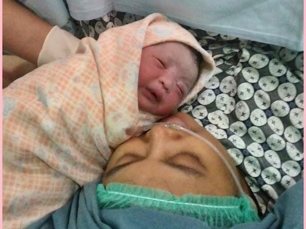 Cerita Kelahiran Baby Aira di Melati Husada