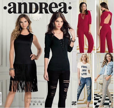 Catalogo Andrea ropa de dama