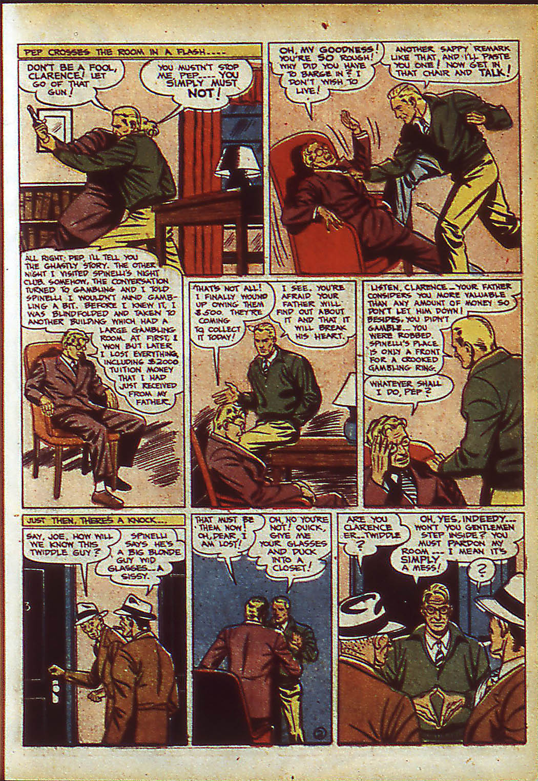 Read online Action Comics (1938) comic -  Issue #37 - 19