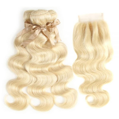 GRACE BODY WAVE 3BUNDLES WITH 4*4 LACE CLOSURE