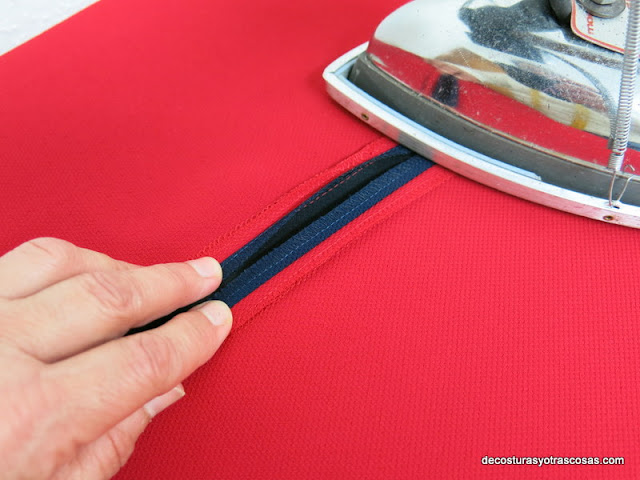 abrir costuras con la plancha