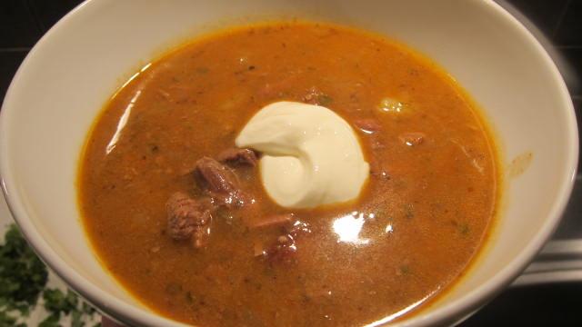 ungersk gulaschsoppa