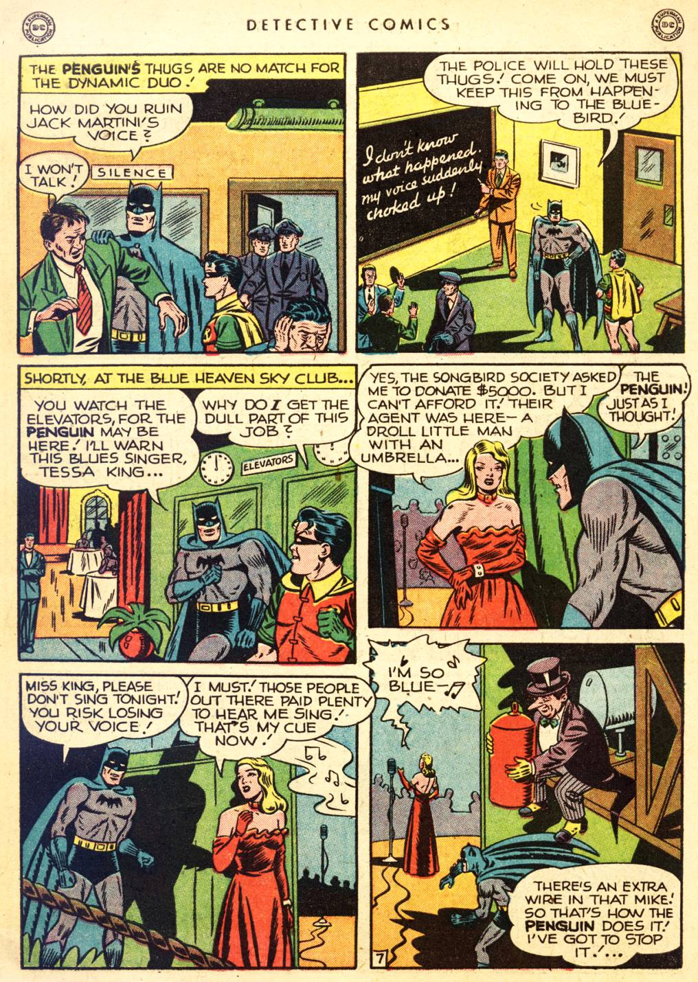 Read online Detective Comics (1937) comic -  Issue #126 - 9