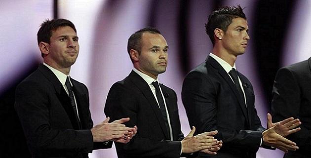 صور انييستا 2012 الكرة الذهبية