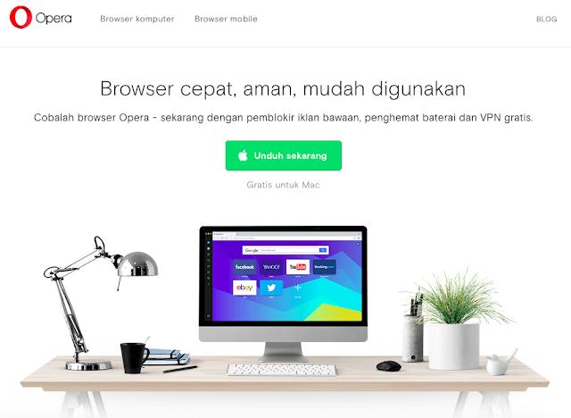 Opera 49.0 Browser Keren Dengan Free Vpn Dan Fitur Gres Lainnya