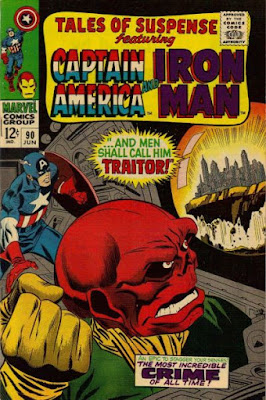 Tales of Suspense #90, Captain America v the Red Skull