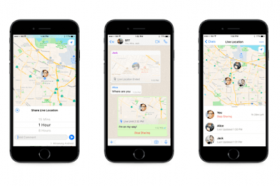cara melacak lokasi teman melalui WhatsApp