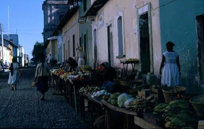 Vendedores de Frutas en el centro Puerto Vallarta