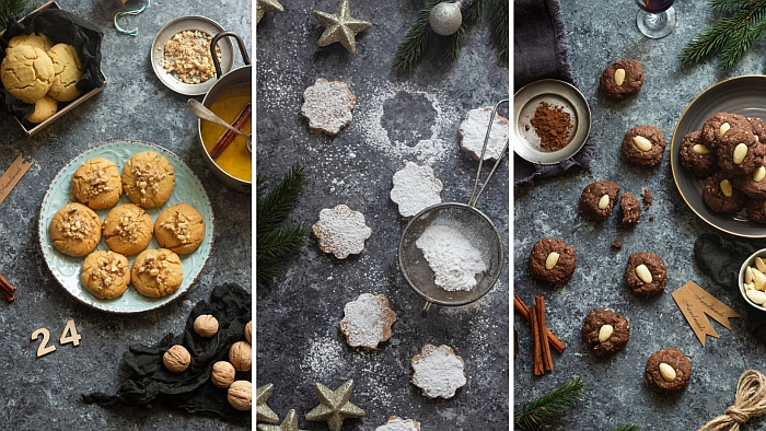Ciasteczka świąteczne - 3 przepisy na bożonarodzeniowe ciasteczka z Włoch, Grecji i Hiszpanii