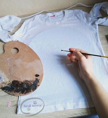 jak malować koszulki farbami do tkanin