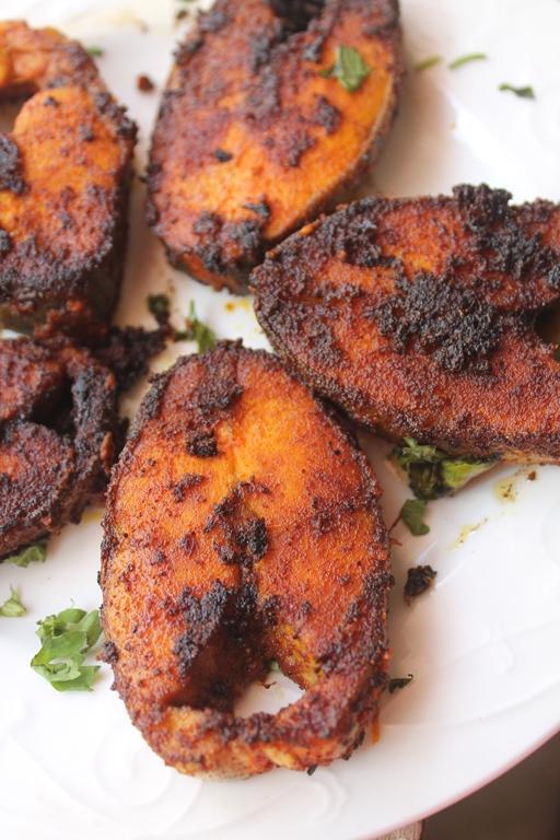 Andhra fish fry recipe andhra chepa vepudu recipe for Cliffords fish fry