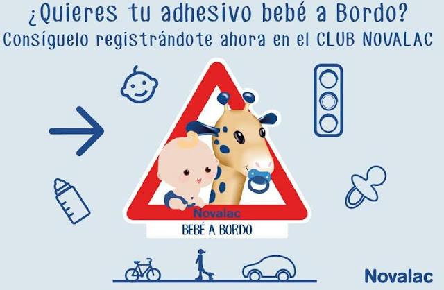 pegatina gratis bebés novalac