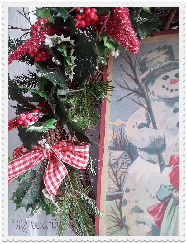 Christmas wreath www.diybeautify.com