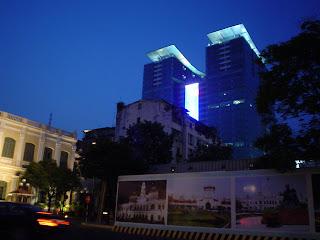 Alrededores del Ayuntamiento de Saigón