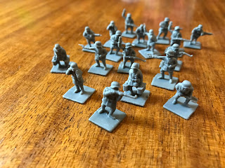 German Specialist figures from The Great War French Expansion