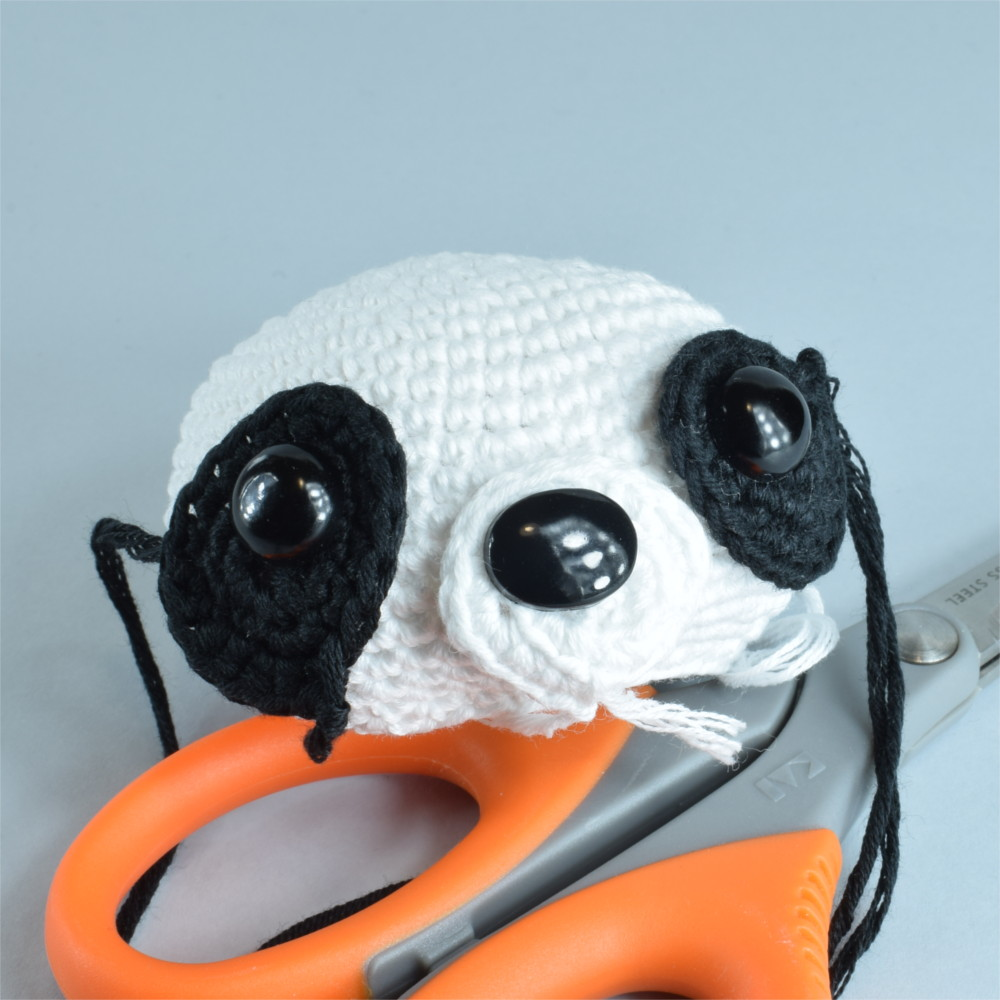 Panda Amigurumi Häkelanleitung von Little Bear Crochets | 1000x1000