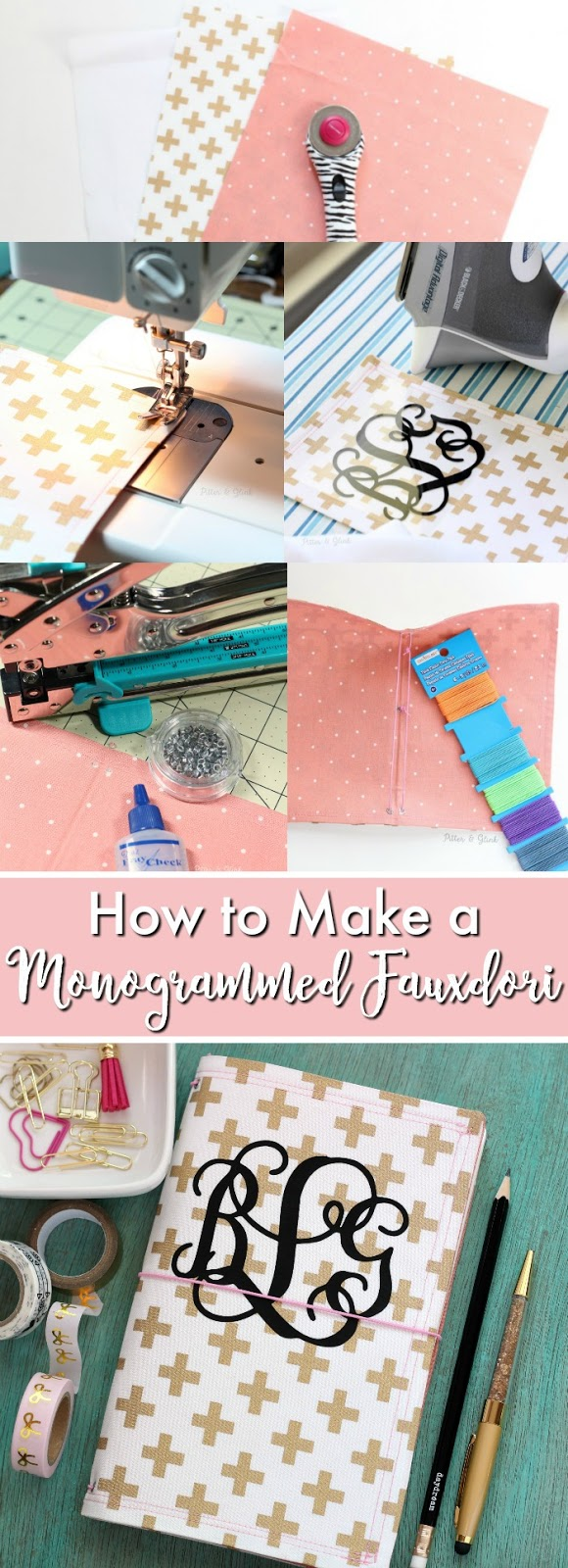 How to Make a Monogrammed Fauxdori