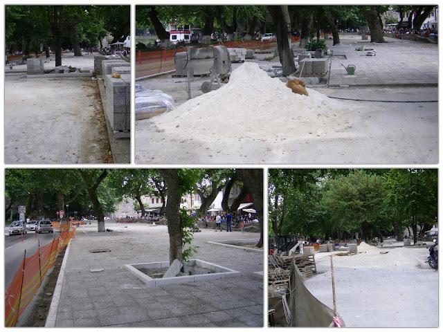Γιάννενα: Μόνο με τσιμέντο και χωρίς πράσινο η ανάπλαση της Πλατείας Μαβίλη