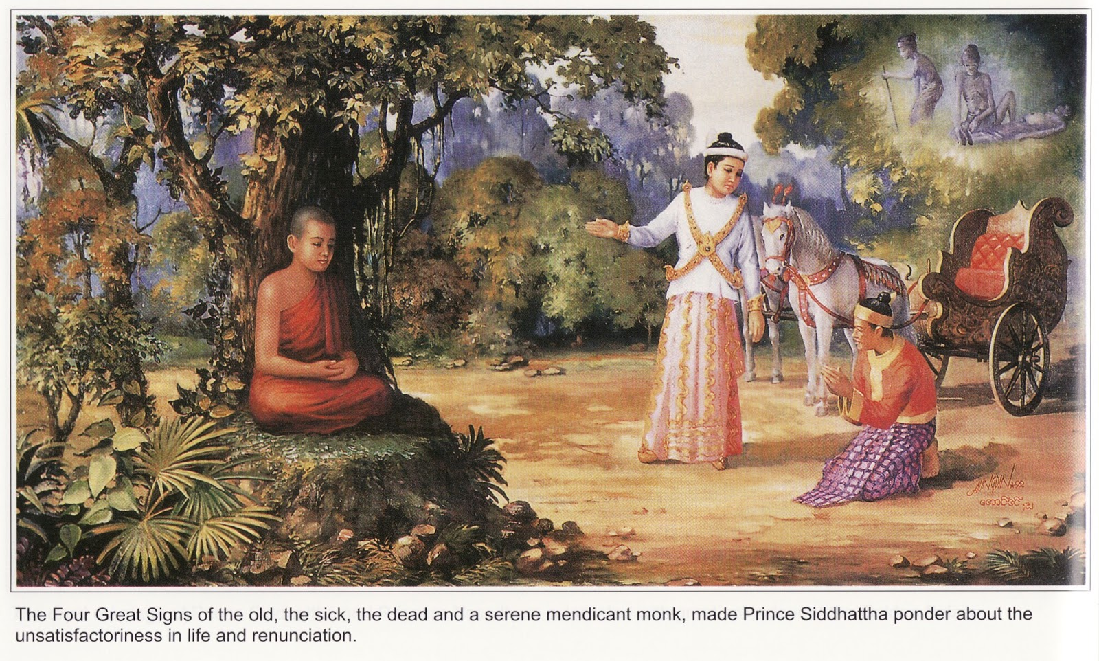 Life Of The Buddha Picture
