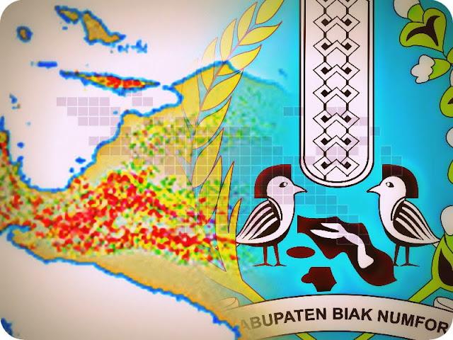 BPBD Petakan Lima Zona Bencana Alam di Biak Numfor
