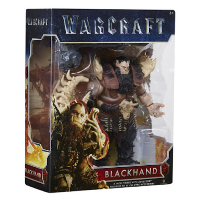 TOYS : JUGUETES - WARCRAFT Blackhand | Figura - Muñeco Película Warcraft El Origen 2016 | A partir de 6 años Comprar en Amazon España & buy Amazon USA