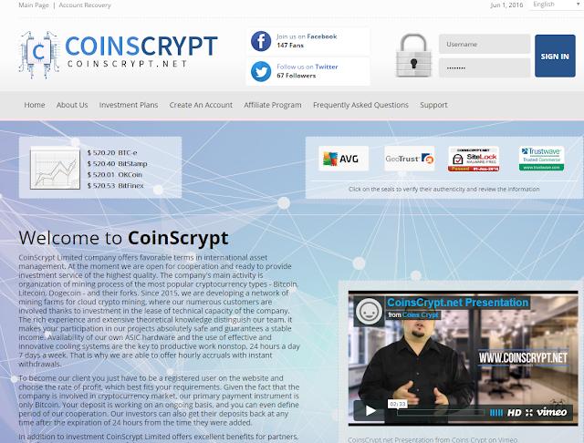 شركة coinscrypt لاستثمار وتعدين البيتكوين ظˆط¬ظ‡ط©.png