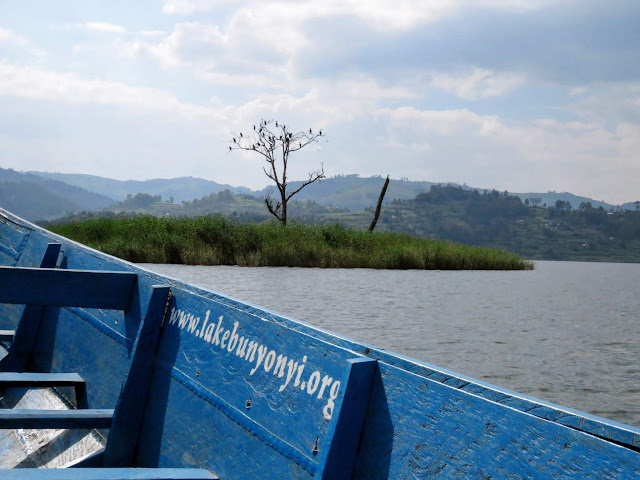 Punishment Island on Lake Bunyonyi in Uganda