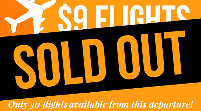 Scoopon's Cheapest Flights Ever - Only for $9 to Melbourne, Sydney and Brisbane - Be Quick to get this Offer