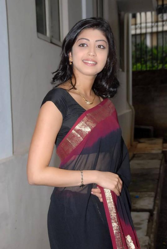 Pranitha sexy in black saree