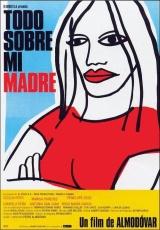 """Carátula del DVD: """"Todo sobre mi madre"""""""
