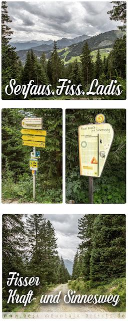 Wandern in Serfaus-Fiss-Ladis  Fisser Kraft- und Sinnesweg  Wanderung Tirol  Wandern-in-Oesterreich1