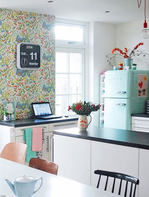 Colorful Kitchens 5