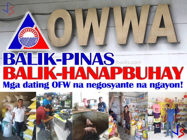 The Balik-Pinas, Balik-Hanapbuhay (BPBH) is a non-cash livelihood support/assistance intended to provide immediate relief to returning member OFWs, active or non-active who is displaced from their jobs due to war/political conflicts in host countries or policy reforms controls and changes by the host government or is victims of illegal recruitment and/or human trafficking or other distressful situations.  The assistance consists of 2-day techno-skills and/or entrepreneurial development training and livelihood starter kits worth ₱10,000.00 that will aid the beneficiaries towards self employment. This reintegration program is OWWA's way of mainstreaming returning OFWs into Philippine society by way of self-employment or livelihood project as a means of income-generation for the family even after their overseas employment.  Among the preferred start-up businesses were Rice Trading, Hog Raising, Agri-Business, Furniture Repair, E-loading, Handicraft and Appliance Repair. Most of the recipients ventured into rice-trading business given that rice is the primary staple food in our country and easy to trade. Majority of the distressed OFW-beneficiaries were females who worked as household service workers.  The OWWA Region 2, in collaboration with the DTI - Nueva Vizcaya conducted a one day BPBH Program to Overseas Filipino Workers on March 30, 2017 at the Livelihood and Pasalubong Center. 46 OFW participants attended the seminar. They were provided with the pro-forma of a Simplified Business Plan and each part of the plan was clearly explained as part of their workshop. The activity offered the financial amount of ₱10,000.00 to encourage the OFWs to start their business rather than go back abroad.  In NCR, 24 beneficiaries of the BPBH Program completed their skills training and received their starter kits at the Ultima Entrepinoy Center in E. Rodriguez Ave., Quezon City on 5 April 2017. On the other hand, 15 beneficiaries completed their skills training and received their s