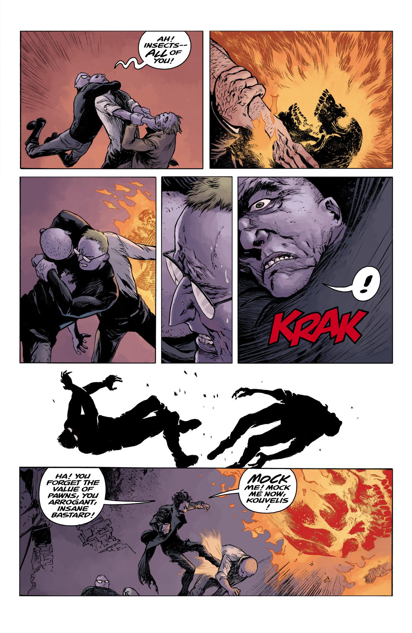 Read online Abe Sapien comic -  Issue #11 - 22